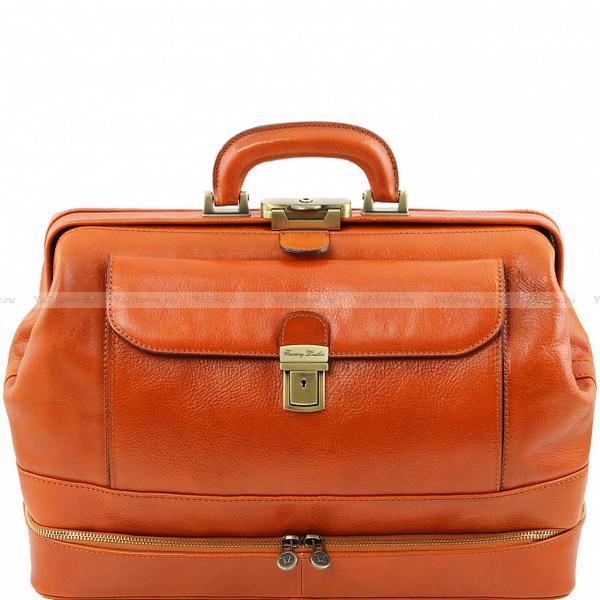 Сумка доктора кожаная — Tuscany Leather, Италия