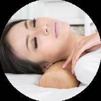 Твердая подушка-валик из системы здоровья Ниши 2.0