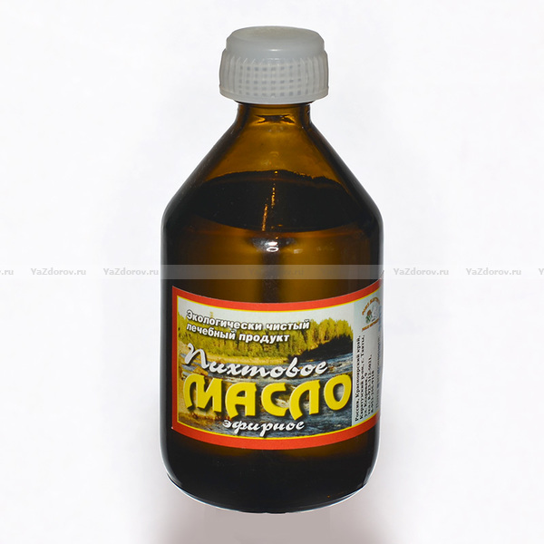 Пихтовое масло — 100 мл. 500 руб.